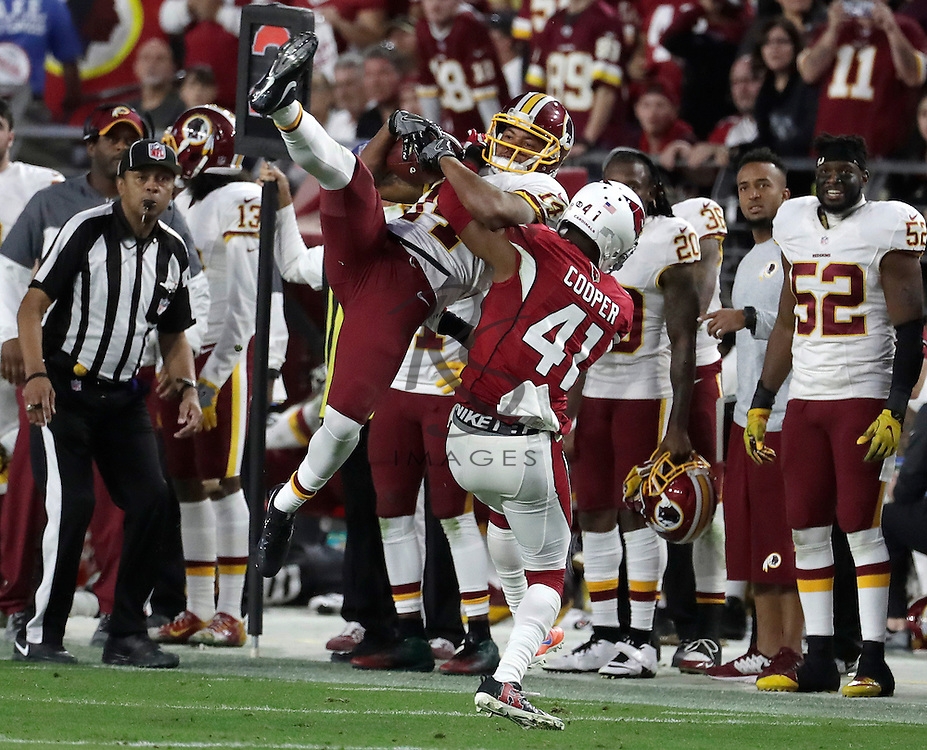 Washington Redskins wide receiver Ryan Grant (14) during an NFL football game against the Arizona Cardinals, Sunday, Dec. 4, 2016, in Glendale, Ariz. (AP Photo/Rick Scuteri)