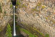 Spahat Falls<br /> Wells Gray Provincial Park<br /> British Columbia<br /> Canada