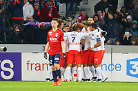 joie Maxwell Sherrer (PSG) / Zlatan Ibrahimovic (PSG) et equipe
