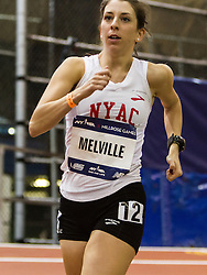 The 108th Millrose Games Track & Field: Women's USATF Championship Mile Walk, Melville