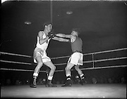 Ireland vs. England - Boxing Stadium for Belfast Telegraph.04/12/1959