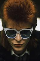 English singer-songwriter David Bowie, circa 1974.