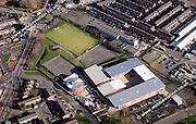 aerial photograph of Salford UK