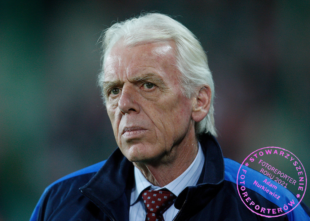 FIFA World Cup European Qualifying Group 3.Poland v San Marino.Saturday 1st of April 2009.Leo Beenhakker ..Photo by : Piotr Hawalej / WROFOTO