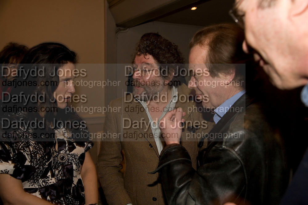 ISABEL FONSECA, CRAIG RAINE AND MARTIN AMIS, party to celebrate the 100th issue of Granta magazine ( guest edited by William Boyd.) hosted by Sigrid Rausing and Eric Abraham. Twentieth Century Theatre. Westbourne Gro. London.W11  15 January 2008. -DO NOT ARCHIVE-© Copyright Photograph by Dafydd Jones. 248 Clapham Rd. London SW9 0PZ. Tel 0207 820 0771. www.dafjones.com.