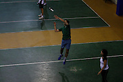 Belo Horizonte_MG, Brasil...Praticantes de peteca no Minas Tenis Clube em Belo Horizonte, Minas Gerais...badminton players in Minas Tenis Clube in Belo Horizonte, Minas Gerais...Foto: LEO DRUMOND / NITRO