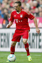 29.10.2011, Allianz Arena, Muenchen, GER, 1.FBL,  FC Bayern Muenchen vs 1. FC Nuernberg, im Bild  Franck Ribery (Bayern #7) // during the match FC Bayern Muenchen vs 1. FC Nuernberg, on 2011/10/29, Allianz Arena, Munich, Germany, EXPA Pictures © 2011, PhotoCredit: EXPA/ nph/  Straubmeier       ****** out of GER / CRO  / BEL ******