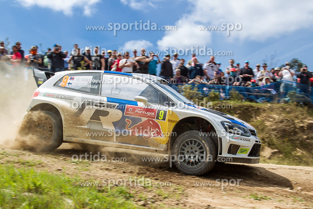 12.04.2013, SS2 Ourique, PRO, FIA WRC, Rallye Portugal, im Bild Andreas MIKKELSEN/ Mikko MARKKULA (DEU)/ VOLKSWAGEN POLO R WRC ), Aktion / Action // during the FIA WRC Rallye of Portugal, Stage SS2 Ourique, Portugal on 2013/04/12. EXPA Pictures © 2013, PhotoCredit: EXPA/ Eibner/ Alexander Neis..***** ATTENTION - OUT OF GER *****