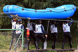 RK Maribor of Slovenia at Euro Cup 2009 R6 Rafting in TT & H2H and Slovenian National Championship 2009, on April 4, 2009, in Tacen, Ljubljana, Slovenia. (Photo by Vid Ponikvar / Sportida)