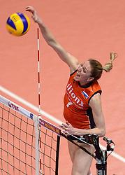 09-01-2016 TUR: European Olympic Qualification Tournament Rusland - Nederland, Ankara<br /> De strijd om Rio of Japan / Quinta Steenbergen #7