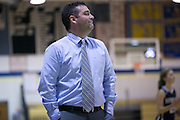 Brighton coach Sam Rizzo during a game against Pittsford Sutherland at Brighton High School on Thursday, January 21, 2016.