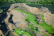 Blue Lakes Country Club is an 18-hole golf course along the Snake River Canyon.  The course has a buffer zone to keep the fertilizer from running off and polluting the waters of the Snake River.  To reduce the water required to maintain the greens, the course has a flow-control computer system, which limits the time sprinklers are active and the amount of water they release.