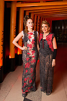 Afton and Gillian McKeith - SUSHISAMBA hosted a glittering party at their vibrant restaurant to celebrate the 10th birthday of Cool Earth, their charity partner that works to halt rainforest destruction. Celebrity guests included Dame Vivienne Westwood, Daisy Lowe, Leah Wood, Alexandra Richards, Julien Macdonald, Jasmine Hemsley, Jack Guinness and Savannah Miller. Guests ate a special menu devised by SUSHISAMBA's Chef Director Claudio Cardoso using ingredients sourced directly from the rainforest in select dishes including Seasonal Vegetable Tempura, El Topo and Welcome to the Rainforest dessert and drank Yuzu Gin Fizz and a special Ashaninka Forest Cocktail at the star studded party. Celebrity guests joined SUSHISAMBA CEO Shimon Bokovza and Cool Earth's Director Matthew Owen.