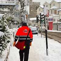 Richmond - England Jan 2nd South-east England saw the worst snow for 18 years, with all London buses pulled from service....Standard Licence feee's apply  to all image usage.Marco Secchi  tel +44 (0) 845 050 6211 .e-mail ms@msecchi.com .http://www.marcosecchi.com