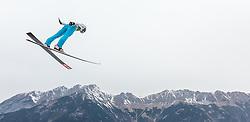02.01.2016, Bergisel Schanze, Innsbruck, AUT, FIS Weltcup Ski Sprung, Vierschanzentournee, Training, im Bild Anze Semenic (SLO) // Anze Semenic of Slovenia during his Practice Jump for the Four Hills Tournament of FIS Ski Jumping World Cup at the Bergisel Schanze, Innsbruck, Austria on 2016/01/02. EXPA Pictures © 2016, PhotoCredit: EXPA/ JFK