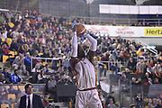 John Brown<br /> Unicusano Roma - Angelico Biella<br /> Campionato Basket LNP 2016/2017<br /> Roma 29/01/2017<br /> Foto Ciamillo-Castoria