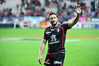 Joie Maxime MEDARD - 24.04.2015 - Stade Francais / Stade Toulousain - 23eme journee de Top 14<br />Photo : Dave Winter / Icon Sport