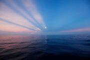 Full moonset, Mamanucas, Fiji