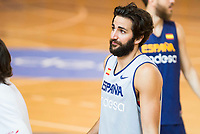 Ricky Rubio during the Spain training session before EuroBasket 2017 in Madrid. August 02, 2017. (ALTERPHOTOS/Borja B.Hojas)