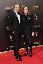 Ian Daniel, Ellen Page bei der Ankunft zur Verleihung der Creative Arts Emmy Awards in Los Angeles / 110916 <br /> <br /> *** Arrivals at the Creative Arts Emmy Awards in Los Angeles, September 11, 2016 ***