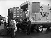 1961 - Urney Chocolates being loaded for for export