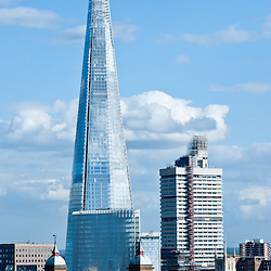 Renzo Piano skyscraper 'The Shard' in London on April 24, 2013. The 95-story Shard, standing at 310 meters (1,016 feet), is the tallest building in Western Europe.