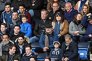 Jeremy Clarkson and Frank Lampard Senior watch the action during the Barclays Premier League match at Stamford Bridge, London<br /> Picture by Paul Chesterton/Focus Images Ltd +44 7904 640267<br /> 21/11/2015