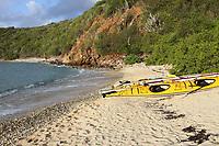 Caribbean kayaking to Peter Island