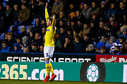 Leeds United defender Barry Douglas (3) in action  during the EFL Sky Bet Championship match between Reading and Leeds United at the Madejski Stadium, Reading, England on 12 March 2019.