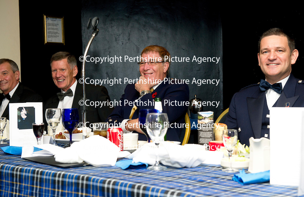 Ex St Johnstone Chairman Geoff Brown 'An Appreciation of 25 Years in Scottish Football' Dinner....28.10.12<br /> Campbell Ogilvie, Lex Gold, Geoff Brown and Steve Brown<br /> Picture by Graeme Hart.<br /> Copyright Perthshire Picture Agency<br /> Tel: 01738 623350  Mobile: 07990 594431