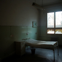 BEIJING,11/17/ 2000: A  bedroom inside the HIV ward of the You'an hospital which is of three places in Beijing with facilities for HIV infected people.