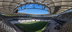 ISTANBUL, TURKEY - Tuesday, August 13, 2019: A general view of the Besiktas Park stadium before a training session ahead of the UEFA Super Cup match between Liverpool FC and Chelsea FC. (Pic by David Rawcliffe/Propaganda)