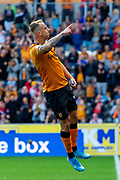 Kamil Grosicki of Hull City Celebrates as he scores from a free kick 2-1 during the EFL Sky Bet Championship match between Hull City and Wigan Athletic at the KCOM Stadium, Kingston upon Hull, England on 14 September 2019.