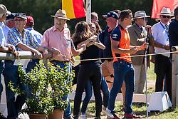 DodderChardon family<br /> Prizegiving FEI rider of the year<br /> Driving European Championship <br /> Donaueschingen 2019<br /> © Hippo Foto - Dirk Caremans<br /> Chardon family