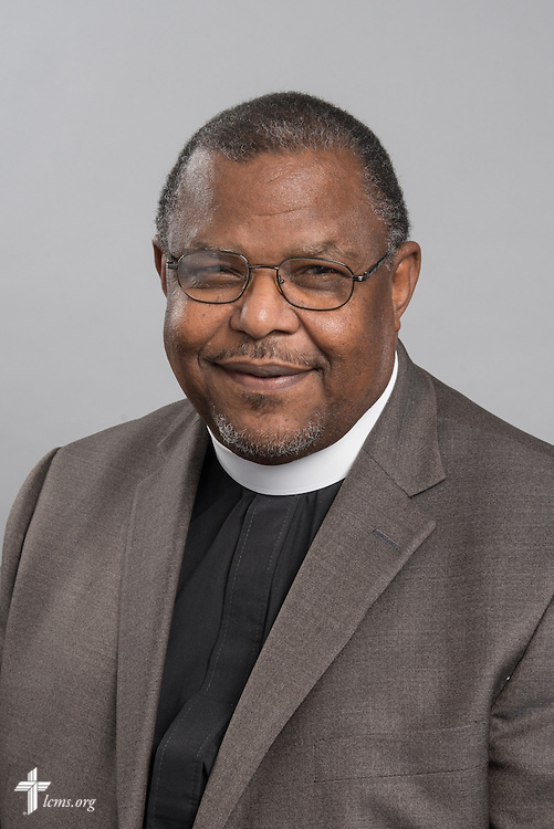Headshot photograph of the Rev. Samuel Cosby on Monday, June 1, 2015, at the International Center of The Lutheran Church–Missouri Synod in Kirkwood, Mo. LCMS Communications/Frank Kohn