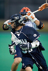 Georgetown Hoyas M Chase Gahan (37)..The Virginia Cavaliers men's lacrosse team faced the Georgetown Hoyas in a Fall Ball Scrimmage held at the University Hall Turf Field in Charlottesville, VA on October 12, 2007.