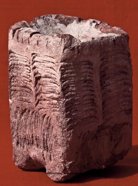 Incense burner, solid pottery, 10 cm high, Thaj, Saudi Arabia