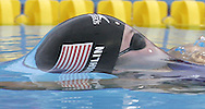 USA's Natalie Coughlin swims en route to a bronze medal in the women's 100m Backstroke at the FINA World Championships in Montreal, Canada Tuesday 26 July, 2005.