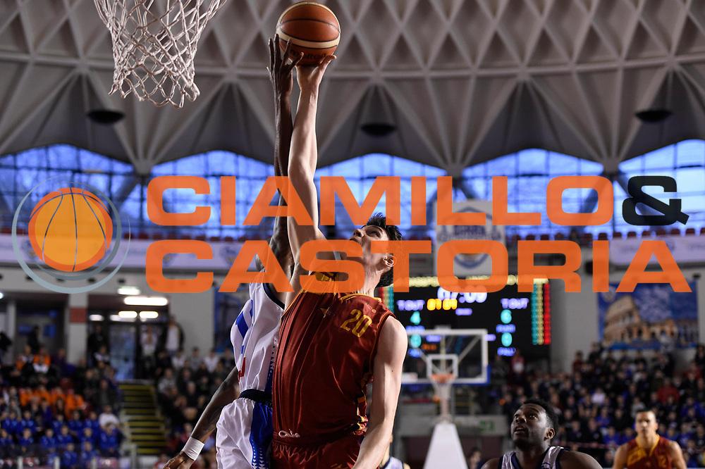 Yacopo Vedovato<br /> Roma Gas &amp; Power Roma - Unicusano Roma<br /> Campionato Basket LNP 2016/2017<br /> Roma 12/03/2017<br /> Foto Ciamillo-Castoria