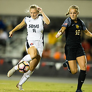 19 October 2018: The San Diego State women's soccer team hosted Colorado College Friday night and tied 1-1 after two overtime periods.
