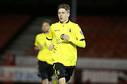 Aston Villa U21 midfielder Henry Cowans (8) during the Barclays U21 Premier League match between U21 Brighton and Hove Albion and U21 Aston Villa at the Checkatrade.com Stadium, Crawley, England on 7 March 2016.