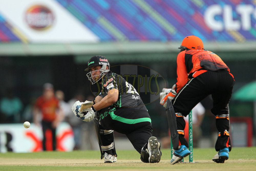 Daryn SMIT of the Dolphins  during match 4 of the Oppo Champions League Twenty20 between the Dolphins and the Perth Scorchers held at the Punjab Cricket Association Stadium, Mohali, India on the 20th September 2014<br /> <br /> Photo by:  Ron Gaunt / Sportzpics/ CLT20<br /> <br /> <br /> Image use is subject to the terms and conditions as laid out by the BCCI/ CLT20.  The terms and conditions can be downloaded here:<br /> <br /> http://sportzpics.photoshelter.com/gallery/CLT20-Image-Terms-and-Conditions-2014/G0000IfNJn535VPU/C0000QhhKadWcjYs