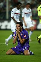 Firenze 27-08-2005<br />Campionato  Serie A Tim 2005-2006<br />Fiorentina Sampdoria<br />nella  foto Pazzini<br />Foto Snapshot / Graffiti