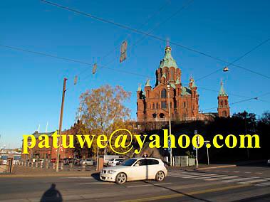 Finland Helsinki Russian orthodox Uspenski