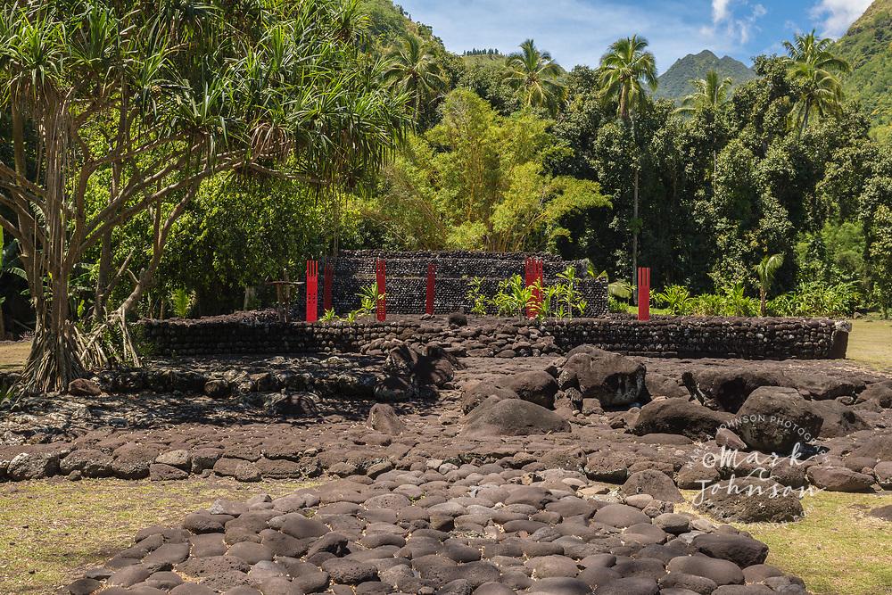 Marae Arahurahu, Tahiti, French Polynesia