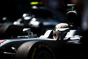 October 30, 2016: Mexican Grand Prix. Lewis Hamilton (GBR), Mercedes, Nico Rosberg  (GER), Mercedes