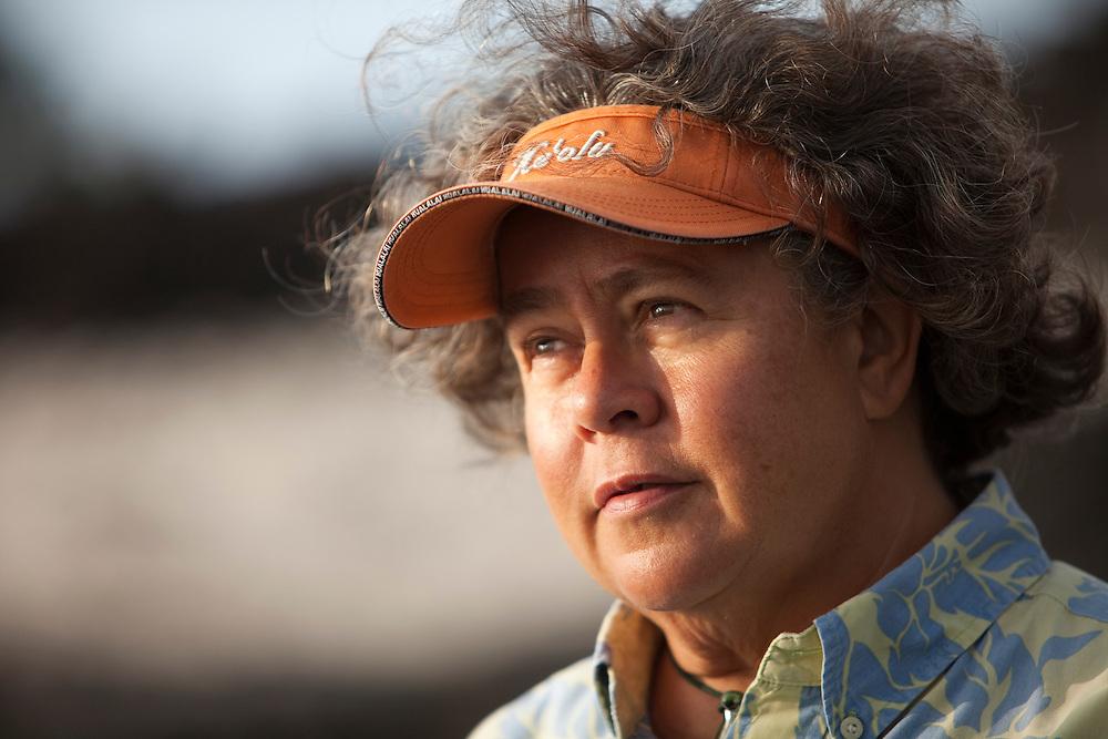Hannah Springer at Kukio, Big Island, Hawaii