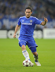 Chelsea's Frank Lampard - Photo mandatory by-line: Joe Meredith/JMP - Tel: Mobile: 07966 386802 22/10/2013 - SPORT - FOOTBALL - Veltins-Arena - Gelsenkirchen - FC Schalke 04 v Chelsea - CHAMPIONS LEAGUE - GROUP E