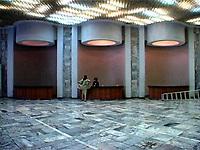 NR00080/The bar of the International Cinema Hall, september 2000