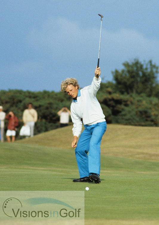840724 St. Andrews GC, Scotland Photo Mark Newcombe  The Open Championship 1984<br />